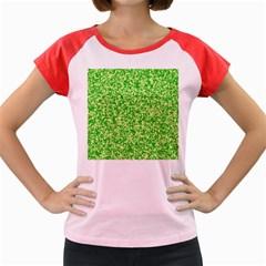 Specktre Triangle Green Women s Cap Sleeve T Shirt