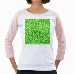 Specktre Triangle Green Girly Raglans