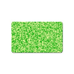 Specktre Triangle Green Magnet (Name Card)