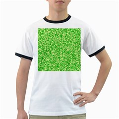 Specktre Triangle Green Ringer T-Shirts