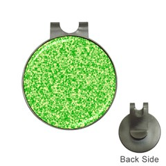Specktre Triangle Green Hat Clips with Golf Markers