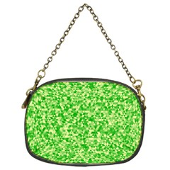 Specktre Triangle Green Chain Purses (Two Sides)