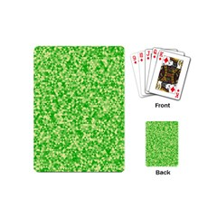 Specktre Triangle Green Playing Cards (Mini)
