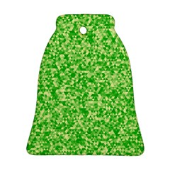 Specktre Triangle Green Bell Ornament (Two Sides)
