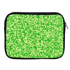 Specktre Triangle Green Apple iPad 2/3/4 Zipper Cases