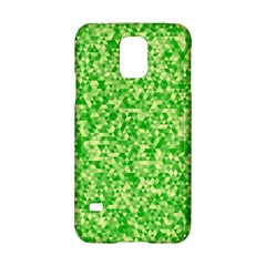 Specktre Triangle Green Samsung Galaxy S5 Hardshell Case