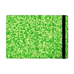 Specktre Triangle Green iPad Mini 2 Flip Cases