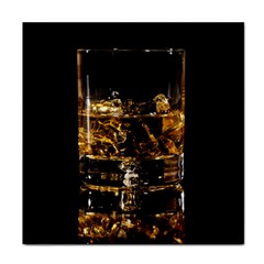 Drink Good Whiskey Tile Coasters