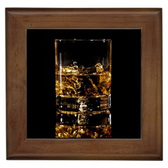 Drink Good Whiskey Framed Tiles