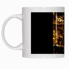 Drink Good Whiskey White Mugs