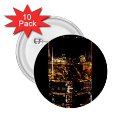 Drink Good Whiskey 2.25  Buttons (10 pack)