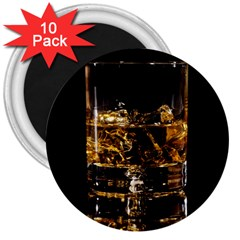 Drink Good Whiskey 3  Magnets (10 pack)