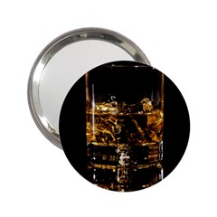Drink Good Whiskey 2.25  Handbag Mirrors