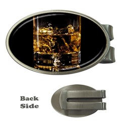 Drink Good Whiskey Money Clips (Oval)