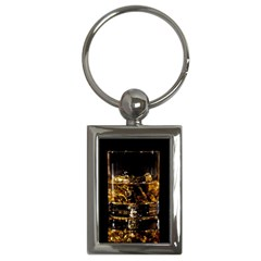 Drink Good Whiskey Key Chains (Rectangle)