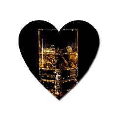 Drink Good Whiskey Heart Magnet