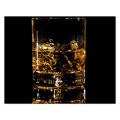 Drink Good Whiskey Rectangular Jigsaw Puzzl