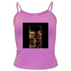Drink Good Whiskey Dark Spaghetti Tank