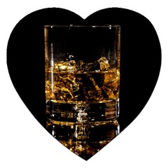 Drink Good Whiskey Jigsaw Puzzle (Heart)