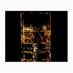 Drink Good Whiskey Small Glasses Cloth
