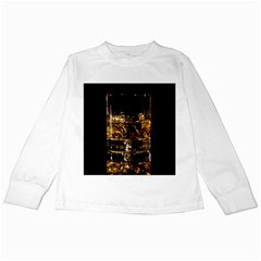 Drink Good Whiskey Kids Long Sleeve T-Shirts
