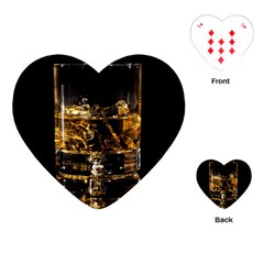 Drink Good Whiskey Playing Cards (Heart)