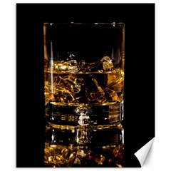 Drink Good Whiskey Canvas 8  x 10