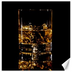 Drink Good Whiskey Canvas 12  x 12