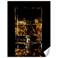 Drink Good Whiskey Canvas 12  x 16