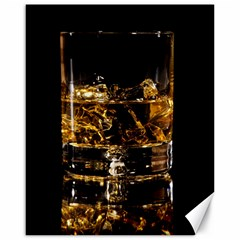 Drink Good Whiskey Canvas 16  x 20