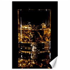 Drink Good Whiskey Canvas 20  x 30
