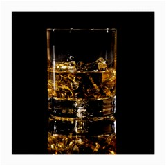 Drink Good Whiskey Medium Glasses Cloth