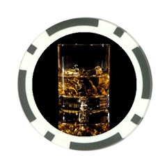 Drink Good Whiskey Poker Chip Card Guard