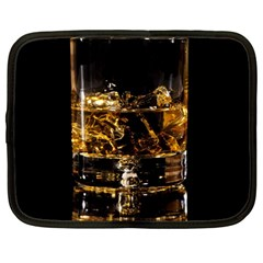 Drink Good Whiskey Netbook Case (Large)