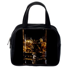 Drink Good Whiskey Classic Handbags (One Side)