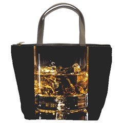 Drink Good Whiskey Bucket Bags