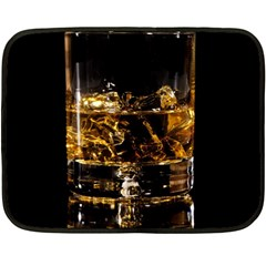 Drink Good Whiskey Fleece Blanket (Mini)