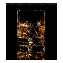 Drink Good Whiskey Shower Curtain 66  x 72  (Large)