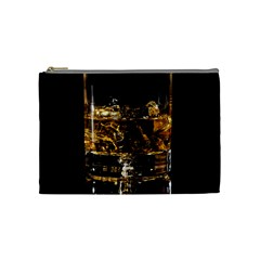 Drink Good Whiskey Cosmetic Bag (Medium)