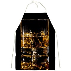 Drink Good Whiskey Full Print Aprons