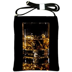 Drink Good Whiskey Shoulder Sling Bags