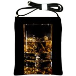 Drink Good Whiskey Shoulder Sling Bags Front