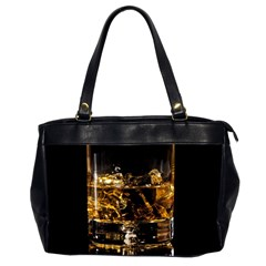 Drink Good Whiskey Office Handbags (2 Sides)
