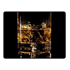 Drink Good Whiskey Fleece Blanket (Small)