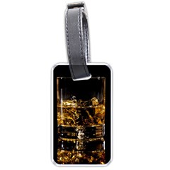 Drink Good Whiskey Luggage Tags (Two Sides)