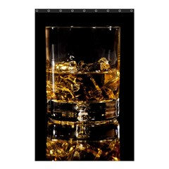 Drink Good Whiskey Shower Curtain 48  x 72  (Small)