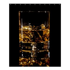 Drink Good Whiskey Shower Curtain 60  x 72  (Medium)
