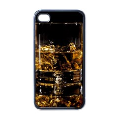 Drink Good Whiskey Apple iPhone 4 Case (Black)