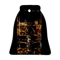 Drink Good Whiskey Bell Ornament (Two Sides)