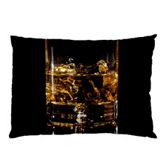 Drink Good Whiskey Pillow Case (Two Sides)